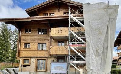 Construção Entregue em Saanenmöser